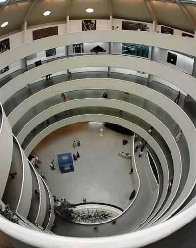 Guggenheim Museum - spiral ramp