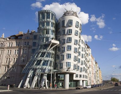 The Rasin Building by Frank Gehry