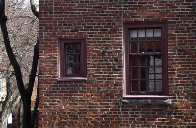 Composite texture made by Brick and Wood