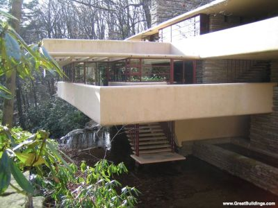 Entrance of Falling Water