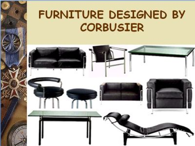 Furniture Design by Le Corbusier