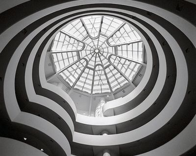 Guggenheim Museum - roof skylight