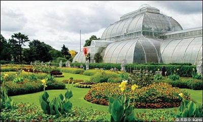 Kew Gardens - Cast iron house at the Botanical garden