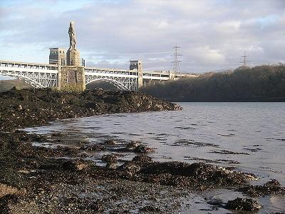 Menai Strait Bridge - cast iron bridge