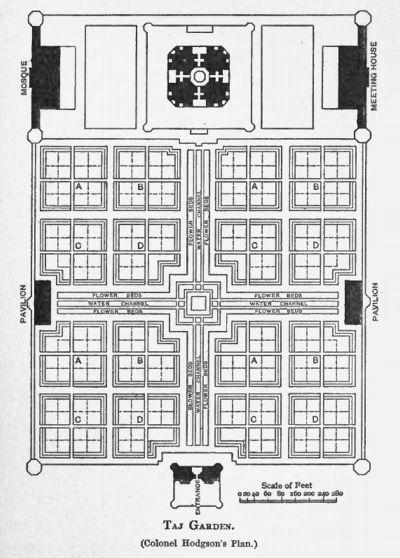 Taj Mughal Gardens - Persian Style