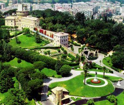 Vatican Garden Style