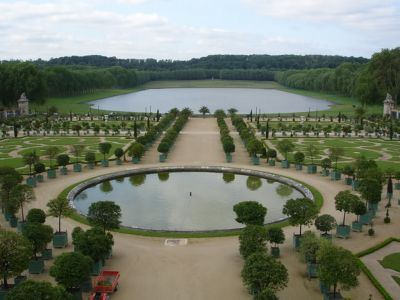 Versailles Grounds - French Gardening style
