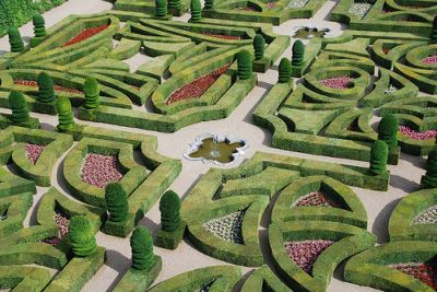 French Garden Design on French Gardening Style