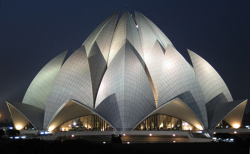 lotus temple delhi innovation in architecture