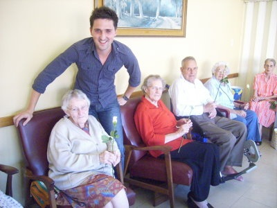 Helpers at Old Age Homes