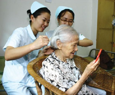 Medical care facility in Old Age Homes