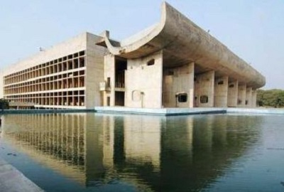 Parliament building in Chandigarh
