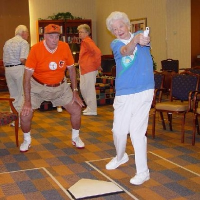 Sports in Old age Homes
