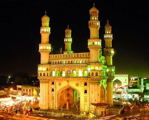 Charminar - iconic landmark, Hyderabad, India