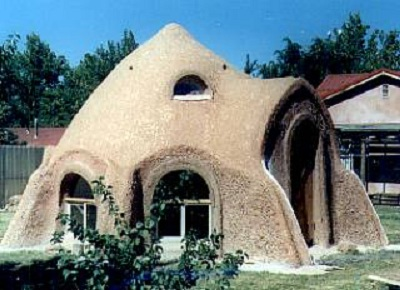 House constructed using Cob