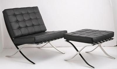 Mies Vander Rohe's Barcelona Chair Design