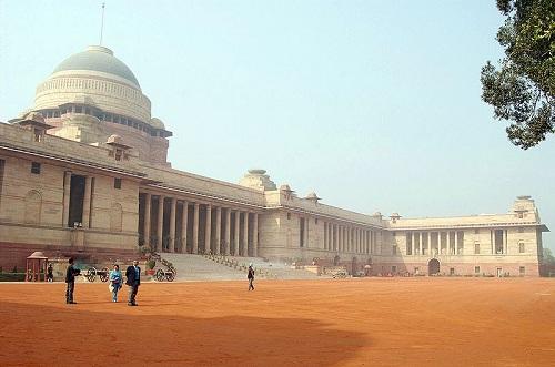 Rashtrapati Bhavan, Delhi, India