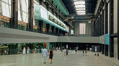 Tate modern Interior, Central London