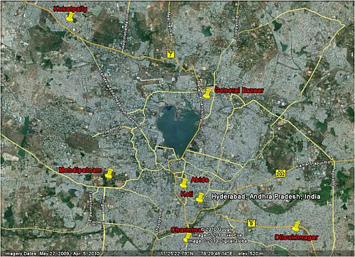 Master Plan of Hyderabad