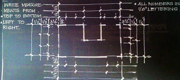 Dimensioning of a Drawing