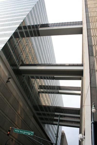 Skywalks in Atlanta