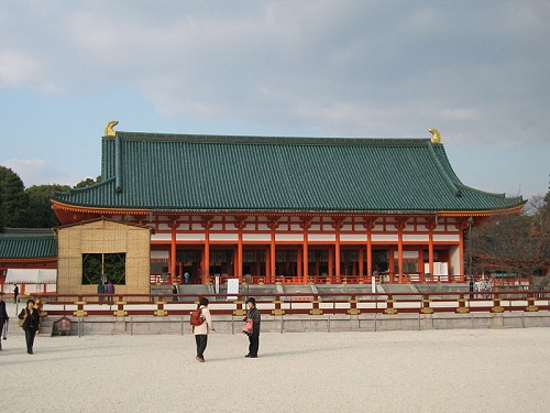Imperial Palace Shishinden, Japan | Japanese Architecture