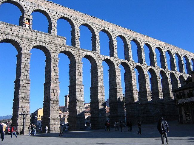 Segovia Aqueduct, Rome