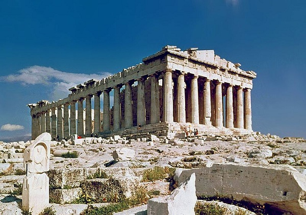 Parthenon at Athens, Greece