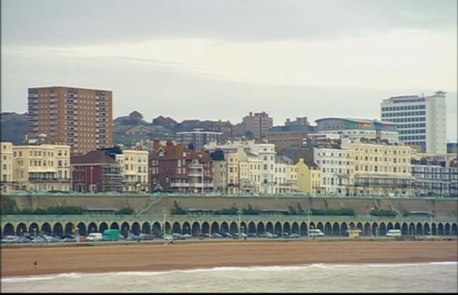 Brighton seafront | Varied Architectural styles