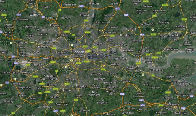 radial network london